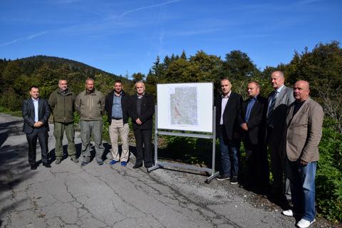 Početak radova na projektu razminiranja u Ličkoj Jasenici sufinanciranog od Karlovačke županije