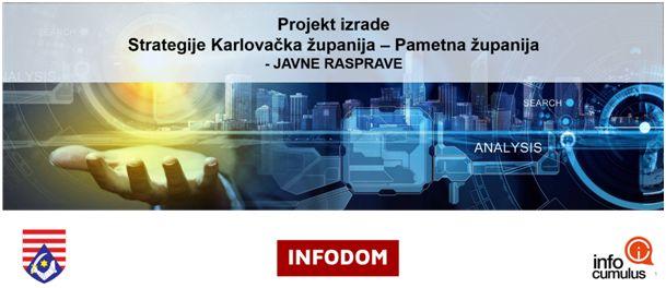 Predstavljanje projekta izrade Strategije Karlovačka županija – Pametna županija