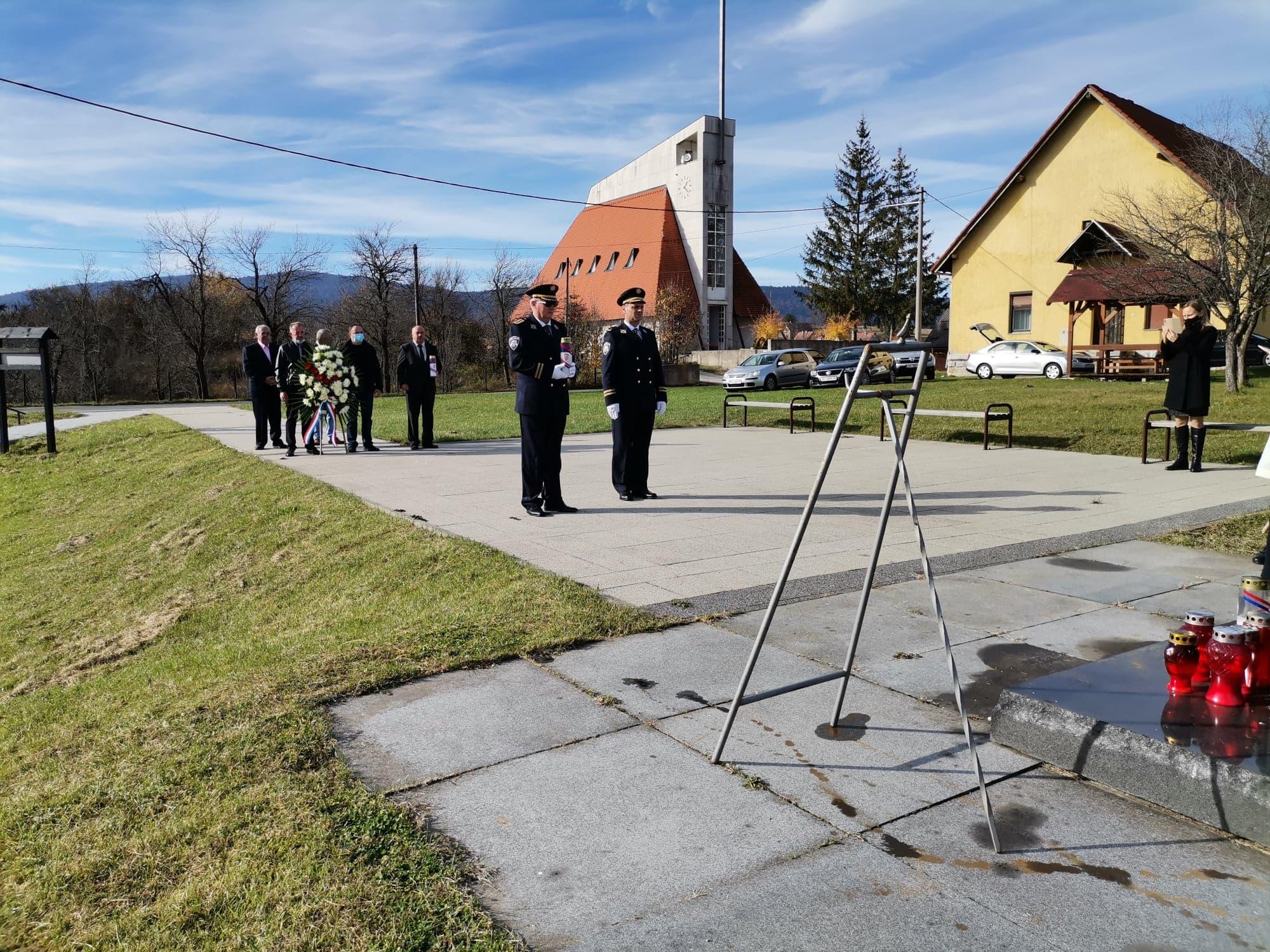 Spomen na poginule branitelje Saborskog