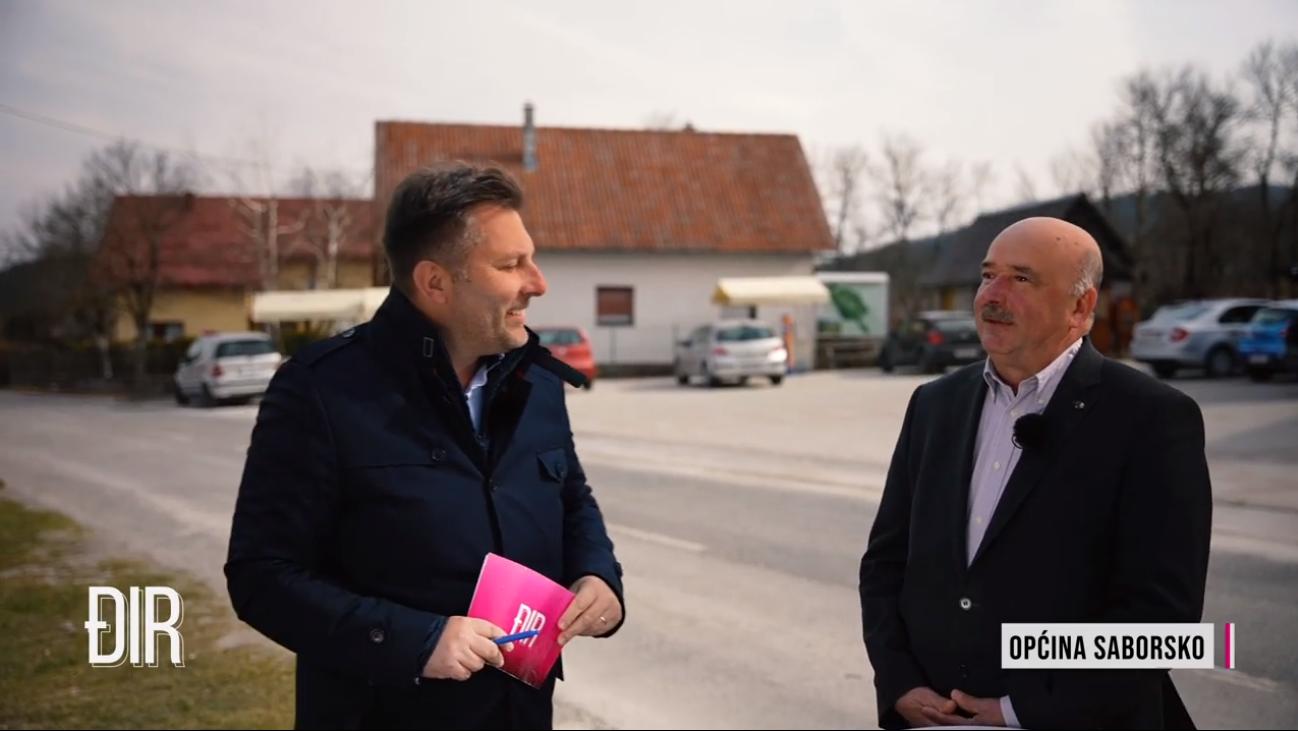 Načelnik Općine Saborsko Marko Bićanić u emisiji Đir s Davorom Jurkotićem