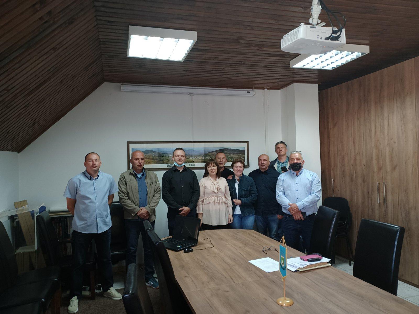 Održana konstituirajuća sjednica Općinskog vijeća Općine Saborsko