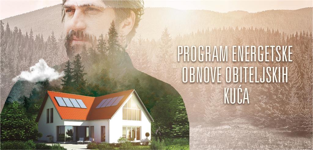 Fond za zaštitu okoliša i energetsku učinkovitost objavio Javni poziv za energetsku obnovu obiteljskih kuća