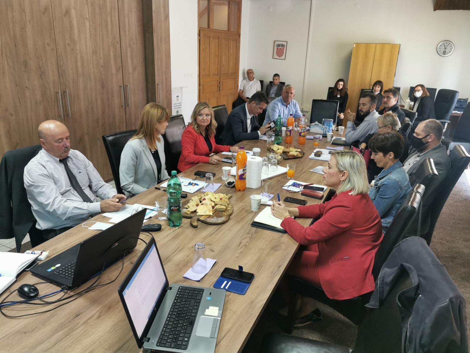 Županica održala kolegij u Saborskom